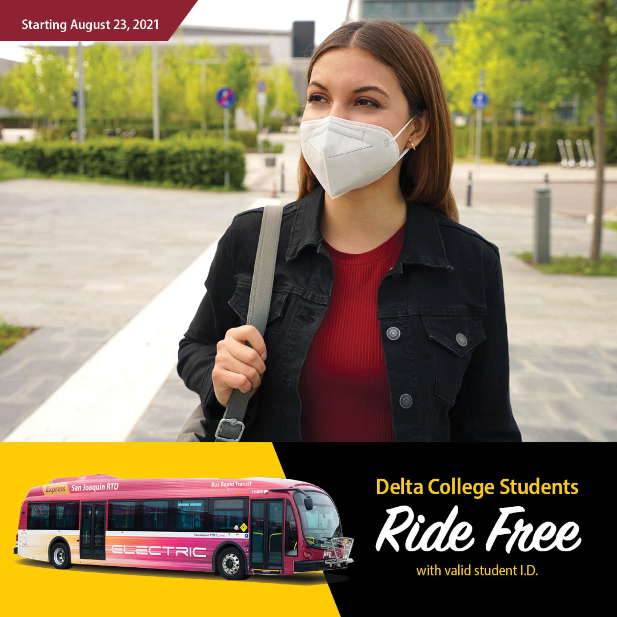 Free Rides for Delta College students on RTD!
