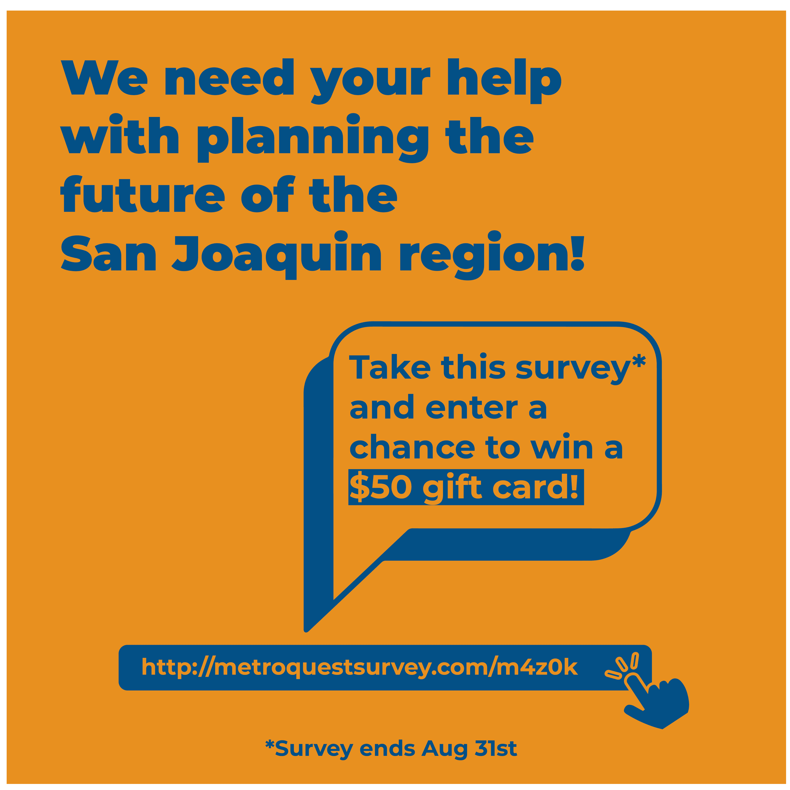 Plan for the future of San Joaquin!