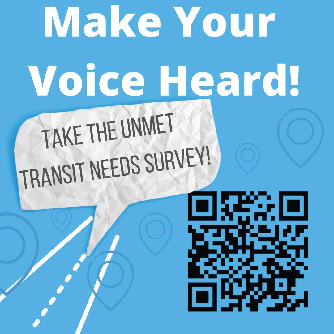 SURVEY: Unmet Transit Needs