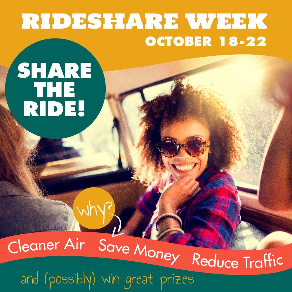 Rideshare Week is HERE!