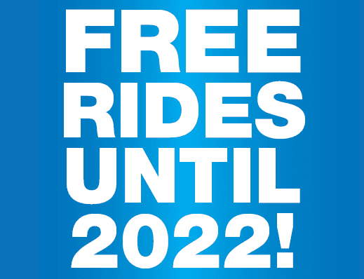 FREE Rides until 2022 with MAX and StaRT!
